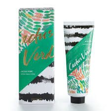 Cactus Verde Lavish Hand Creme. Luxury lives hand in hand with a soothing blend for natural oils - coconut, jojoba, avocado and Vitamin E - accompanied by coca and mango butters. All balance for optimal moisture. All paraben-free with a natural emulsifier for softer skin. All wrapped up in a lovely package. 3.5 oz Fragrance: Cactus Verde - A bright blend of cassis, pink sea salt, and wild geranium with a hint of avocado. – Urban Poppy