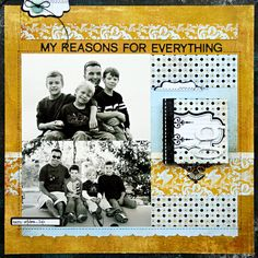 *My Reasons for Everything* BasicGrey OXFORD - Scrapbook.com