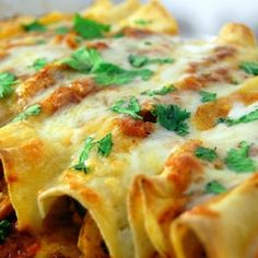 Chicken enchiladas so good you'll never have to order them at a restaurant again!