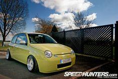 yellow vw lupo