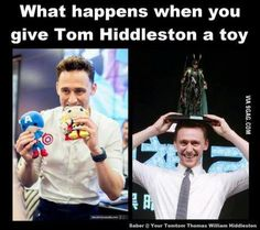 CUTENESS OVERLORD ..i eitz le brether ther...--OMIGOSH, TOM WHAT ARE YO DOING TO THOR TOM? STAHP.