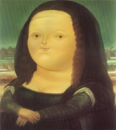 Happy Birthday to Colombian figurative artist and sculptor Fernando Botero who was born #otd in 1932. This is Boteros rendering of Mona Lisa. @MuseosBanrep (via @ArtsyGirl62)