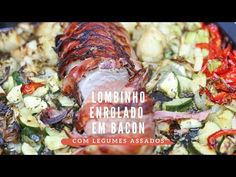 Clara de Sousa - YouTube Bacon, Youtube, Pork, Food And Drink, Chicken, Meat, Meat Recipes, Pork Fillet, Roasted Vegetables