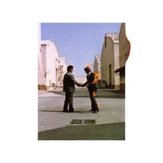 "Pink_Floyd ""Wish You Were Here"" (1975) Design by Hipgnosis"