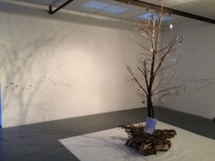 Drawing with wire - The Tree of Life, exhibited at Bath Artists Studios Sydney Gardens, Tree Of Life, Studios, Wire, Bath, Artists, Group, Drawings, Creative