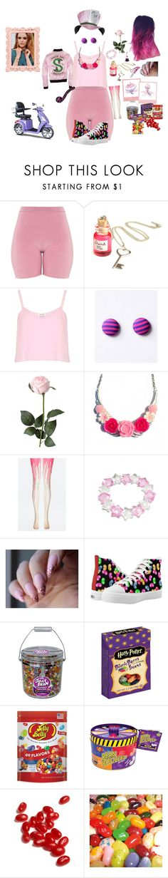 """""""Jelly been"""" by traceymarh ❤ liked on Polyvore featuring River Island, Handle and Jelly Belly"""