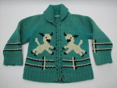 Mary Maxim Child's No. 478 Little Lamb in heavy 4 oz wool or Child's No. 831 Baby Lamb in a double knit sweater pattern Sweater Knitting Patterns, Knit Patterns, Baby Sweaters, Vintage Sweaters, Cowichan Sweater, Crochet Angels, Baby Lamb, Double Knitting, Separates