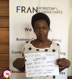 Meet Peace from Uganda, she recently participated in our youth forum.  She wants the UN to know her top priority for the post-2015 development agenda is vaccinating against cervical cancer. A low priority for peace in access to universal broadband.