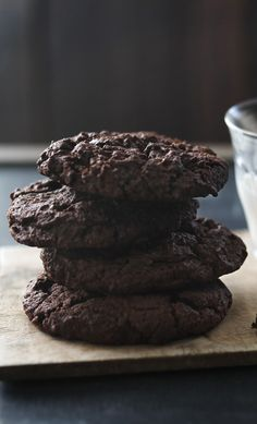 There's a lot of chocolate in that cookie. A real chocoholic's gift idea.