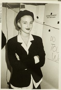 Drew Barrymore, New York, 1992