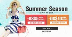 Summer Season 3rd Week