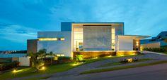 Beautiful Brazil Hillside Home Integrated into Its Surrounding Landscape