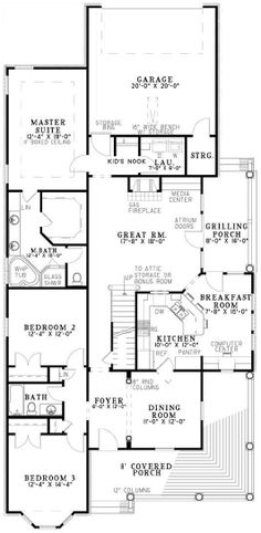 Windstone Place House Plan