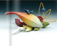 Растительные украшения из полимерной глины. Художники Jeffrey LLoyd и An Fen Kuo - Ярмарка Мастеров - ручная работа, handmade