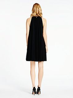 madison ave. collection dessa dress, black