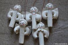 Рождественские ангелы - подвески из макарон (21) (660x440, 173Kb)