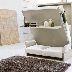 Este é literalmente um sofá-cama. :) Gostou? #home #decor
