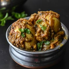 Eggs are simmered in spicy & delicious Indian gravy ! Perfect Weeknight Dinner recipe to make in 20 minutes. Veg Recipes, Curry Recipes, Indian Food Recipes, Chicken Recipes, Cooking Recipes, Ethnic Recipes, Weekly Recipes, Delicious Recipes, Egg Masala