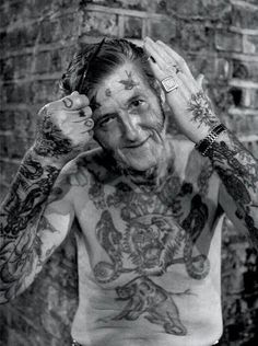 "17 tattooed senior citizens finally answer this question : ""What will it look like when I'm older?"""
