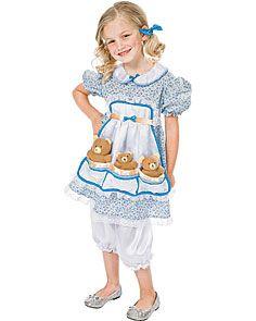 Child Goldilocks Costume | Goldilocks costume, Costumes ...