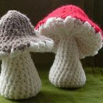 One Piece Toadstool -- pattern costs $1.60ish