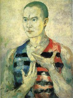Portrait of a Youth, 1933 - Kazimir Malevich