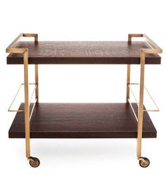 inspired by the Mad Men's cocktail - Bar Cart -