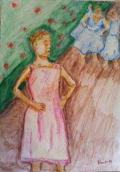 Duda e as bailarinas de Degas