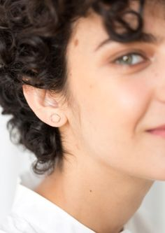 & Other Stories | Circular Pin Earrings