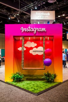Grace Hopper Celebration Brand Presence & Recruitment is part of Exhibition booth design - Exhibition Stand Design, Exhibition Display, Photowall Ideas, Photo Zone, Event Agency, Photos Booth, Experiential Marketing, Interactive Marketing, Photo Booth Backdrop