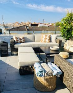 Outdoor Sectional, Sectional Sofa, Torrevieja Spain, Blanket Storage, Outdoor Furniture Sets, Outdoor Decor, House, Inspiration, Home Decor