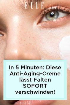 Glatte und faltenfreie Haut: Diese Anti-Aging-Lifting-Creme soll Falten in nur fünf Minuten verschwinden lassen. Jetzt auf Elle.de shoppen!