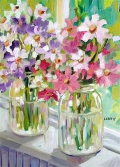"Daily Paintworks - ""Lightness of Being"" - Original Fine Art for Sale - © Libby Anderson by gena"