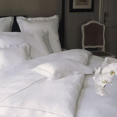 Summer Mulberry Silk Filled Double Duvet In White Wonderfully indulgent; Unique duvet construction keeps you cool in the summer and warm in the winter; Casing: 100% combed cotton sateen, 300 thread count, plain white color; Fill: 100% mulberry silk; Care instructions: please use a duvet cover to protect your comforter; Dry clean only; Mulberry silk absorbs and retains moisture; Hypo-allergenic; Regulates temperature; Inhospitable to dust mites, bed bugs; Resistant to mold and mildew; Wicks…