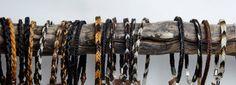 Natur pur, Pferdehaararmbänder mit und ohne Muster!