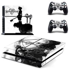kingdom hearts ps4 skin decal for console and controllers dualshock – Decal Design