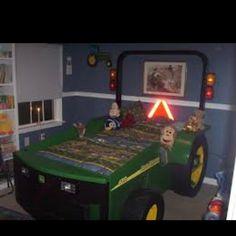 John Deere bed for kids