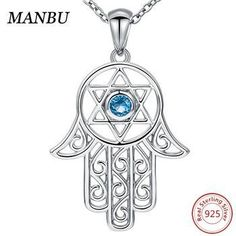 Pendants Awareness and Inspirational Charms .925 Sterling Silver Blue Inlay Created Opal Peace Sign Charm Pendant