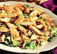How to make Applebee's Oriental Salad (my favorite!) -- VERDICT: Awesome!!! The dressing is exactly right on. Adjust for low carb