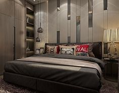 """Check out new work on my @Behance portfolio: """"Modern Boy Bedroom, Apartment, Egypt."""" http://be.net/gallery/53918495/Modern-Boy-Bedroom-Apartment-Egypt"""