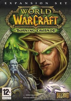 WORLD OF WARCRAFT : THE BURNING CRUSADE 4 DISCS PC/MAC