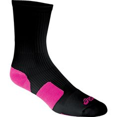 NEW at All Volleyball! The Asics ZK2000 Team Tiger Crew Socks. They come in Black or White with a variety of bright accent colors!