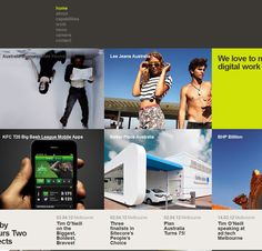 Awesome Examples Of Thumbnail Usage In Web Design - 32 Sites