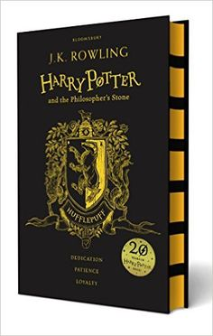 Harry Potter and the Philosopher's Stone - Hufflepuff Edition: Amazon.co.uk: J.K. Rowling: 9781408883808: Books