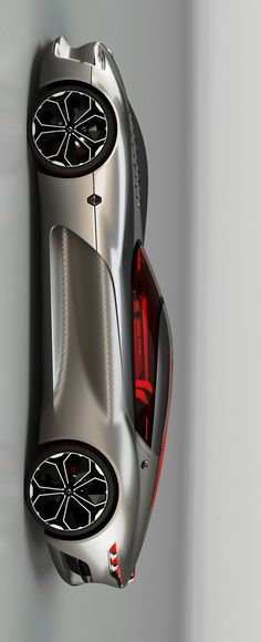 (°!°) Renault Trezor Concept #supercar