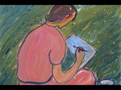 CHARLOTTE SALOMON (1917-1943)-ARTISTE PEINTRE-PAINTER-PINTORE-PART:2/4 - YouTube