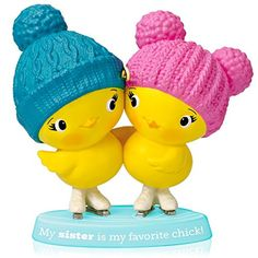 1 X Sister Chicks  2014 Hallmark Keepsake Ornament * You can get additional details at the image link.  This link participates in Amazon Service LLC Associates Program, a program designed to let participant earn advertising fees by advertising and linking to Amazon.com.