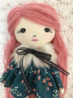 Rag Dolls, Plush Dolls, Fabric Dolls, Doll Toys, Tiny Dolls, Soft Dolls, Doll Clothes Patterns, Doll Patterns, Doll Crafts