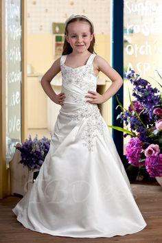 #TBDress - #TBDress A-line Floor-length Flower Girl Dress - AdoreWe.com