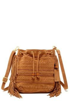 drawstring satchel with fringe - Google Search